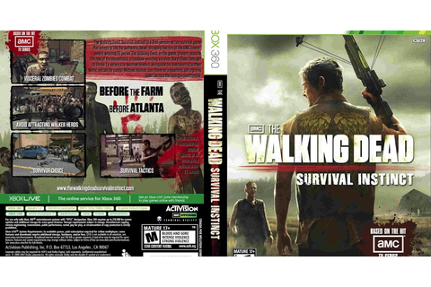 HARD GAMESS: The Walking Dead: Survival Instinct / XBOX 360